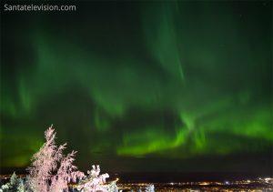 Northern Lights - aurora borealis in Finnish Lapland