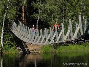 Oulanka National park in Finnish Lapland