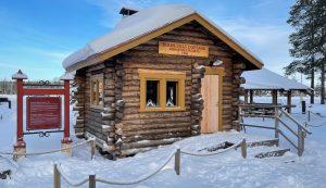 Roosevelt Cottage in Santa Claus Village in Rovaniemi, Finland