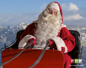 Santa Claus' personalized video message