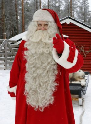 Have you been nice or naughty –Santa Claus in Lapland is asking