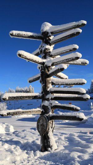 Distances from Rovaniemi in Finnish Lapland