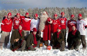 Santa's Football team in Rovaniemi, Lapland: FC Santa Claus