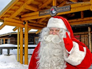 Santa Claus lives in Finland in a region called Lapland