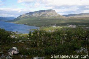 La plus haute montagne de Finlande Saana au Nord de la Laponie