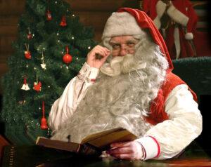 Papá Noel / Santa Claus vive en Rovaniemi en Finlandia