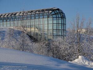 Arktikum, le centre arctique à Rovaniemi en Laponie en Finlande