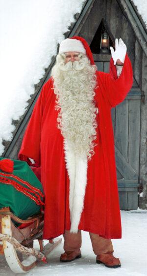 Les voeux du Père Noël avant son tour du monde
