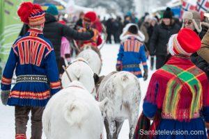 Marché de Jokkmokk en Laponie suédoise